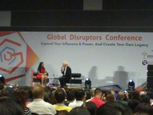 Richard Branson Global Disruptors Conference 2017 Photo 2