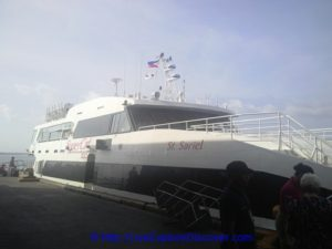 SuperCat: This is the ferry that I took to Bohol Island.