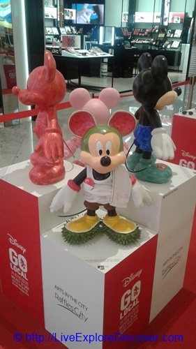Mickey Go Local Durian Shoes