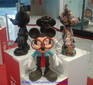 Mickey Go Local Mr Kiasu